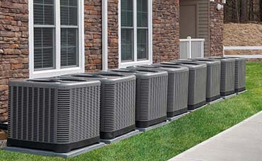 Heating and air conditioning HVAC units in Omaha, NE