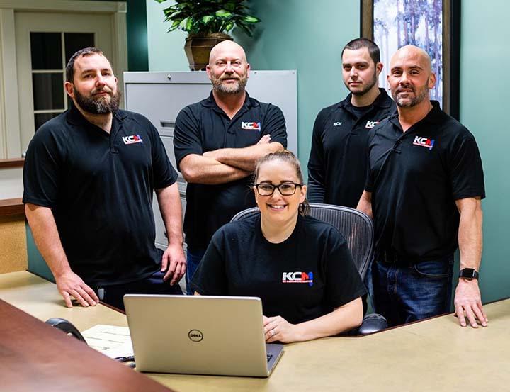 KC Mechanical HVAC team photo